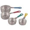 Fox Run Craftsmen 4-Piece Stainless Steel Measuring Cup Set