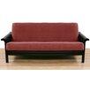 Easy Fit Pinnacle Crimson Polyester Futon Slipcover