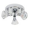 Searchlight 3 Light Ceiling Spotlight