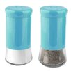 Home Basics Stainless Steel 2-Piece Salt and Pepper Set
