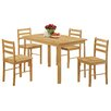 Andover Mills Thorndike Dining Set with 4 Chairs