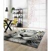Hokku Designs Mesmerising Tiger Grey Area Rug