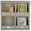 Castleton Home Esscherts Garden Wall Organizer Accent Shelf