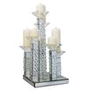 Wildon Home Rhombus Glass G3 Candlestick