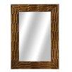 Bay Isle Home Rectangle Texture Wall Mirror