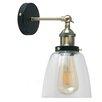 MiniSun Industrial 1 Light LED Armed Sconce