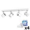 MiniSun Rosie 4 Light LED Ceiling Spotlight