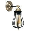 MiniSun Pomona 1 Light Armed Sconce
