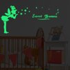Home Loft Concept Fairy and Sweet Dreams Glowing Vinyl Wall Sticker