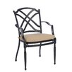 Summer Classics Westport Dining Arm Chair with Cushion