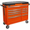 "Homak GT Series 41"" Wide 9 Drawer Bottom Rollaway Chest"