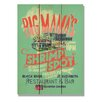 Daydream HQ 'Big Mama's Shrimp' Vintage Advertisement on Wood