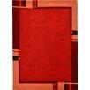 Bakero Phoenix Hand-Tufted Red Area Rug