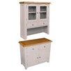 Hazelwood Home Vigo Display Cabinet