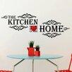 Home Loft Concept Vintage Kitchen Quote Wall Sticker