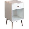 Mercury Row Aedesia 1 Drawer Bedside Table