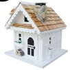 Home Bazaar Cottage Charmer Series Tranquility Freestanding 11.5 in x 10.5 in x 11 in Birdhouse