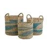 Castleton Home 3 Piece Basket Set
