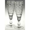 Castleton Home Fleur 170ml Champagne Glasses (Set of 2)