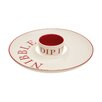 Castleton Home Hollywood Nibble Chip and Dip Platter