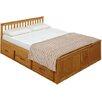 Three Posts Larksville Storage Bed Frame