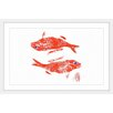 Marmont Hill 'Wrasse' by Andrew Clay Framed Art Print
