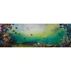 Marmont Hill 'Flowers in Motion' by Tracy Silva Barbosa Art Print on Wrapped Canvas