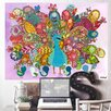 Oopsy Daisy Peacock Birdies by Winborg Sisters Wall Decal