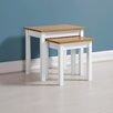 August Grove Bradmoor 2 Piece Nest of Tables