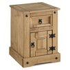 Andover Mills Corona Petite 1 Drawer Bedside Table