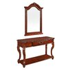 Wildon Home Aston Console Table and Mirror Set