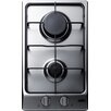 "Summit Appliance 12"" Gas Cooktop with 2 Burners"