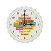 Contento Crowns Save Water Drink Wall Clock