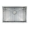 "Ancona Prestige Series Stainless Steel 30"" x 18"" Undermount Kitchen Sink with Grid and Strainer"