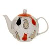 Ulster Weavers Cats in Waiting 1.89L Bone China Teapot