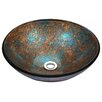ANZZI Stellar Series Circular Vessel Bathroom Sink