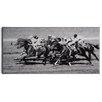 Wildon Home 'Retro Horse Race 1' Photographic Print on Paper