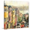 Marmont Hill 'Down to the Bay' by Mica Art Print on Wrapped Canvas
