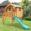 Home Essence Poppy Playhouse with Tower and Slide