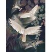 Cozamia Night Flight No. 2 Giclee Printed on Paper Graphic Art