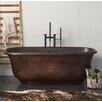 "Native Trails, Inc. Santorini 66"" x 32.5"" Freestanding Soaking Bathtub"