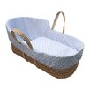 Clair De Lune Simplicity Dimple High Top Palm Moses Basket
