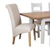 Hazelwood Home Francesca Upholstered Dining Chair (Set of 2)