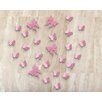 Home Loft Concept Strawberry Butterflies Wall Sticker