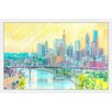 Marmont Hill 'Bridges of St. Paul' by Didi Framed Graphic Art