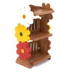 Just Kids Flower Childs 78cm Bookshelf