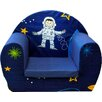 Just Kids Space Boy Children's Foam Chair