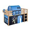 Just Kids Jelle Canopy Bed with Curtains