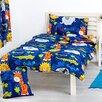 HoneyBee Nursery Jungle Fever 2 Piece Cot Bedding Set