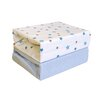 HoneyBee Nursery Magical Stars 2-Piece Fitted Cot Sheet Set